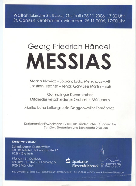 Plakat Messias 2006
